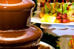 Pourquoi une fontaine à chocolat