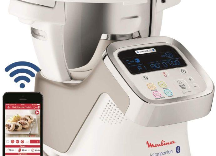 Moulinex i-Companion le Robot cuiseur connecté