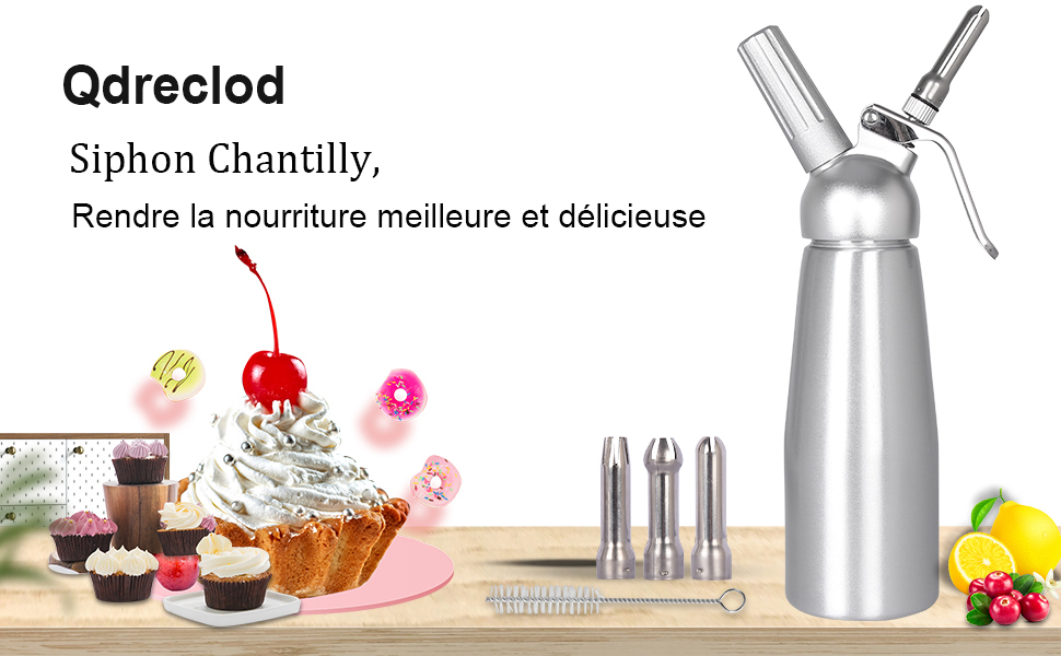 Siphon Chantilly Professionel