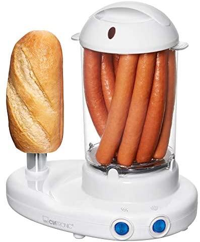 Clatronic HDM 3420 EK N Machine à Hot-dog / Cuiseur à Oeufs