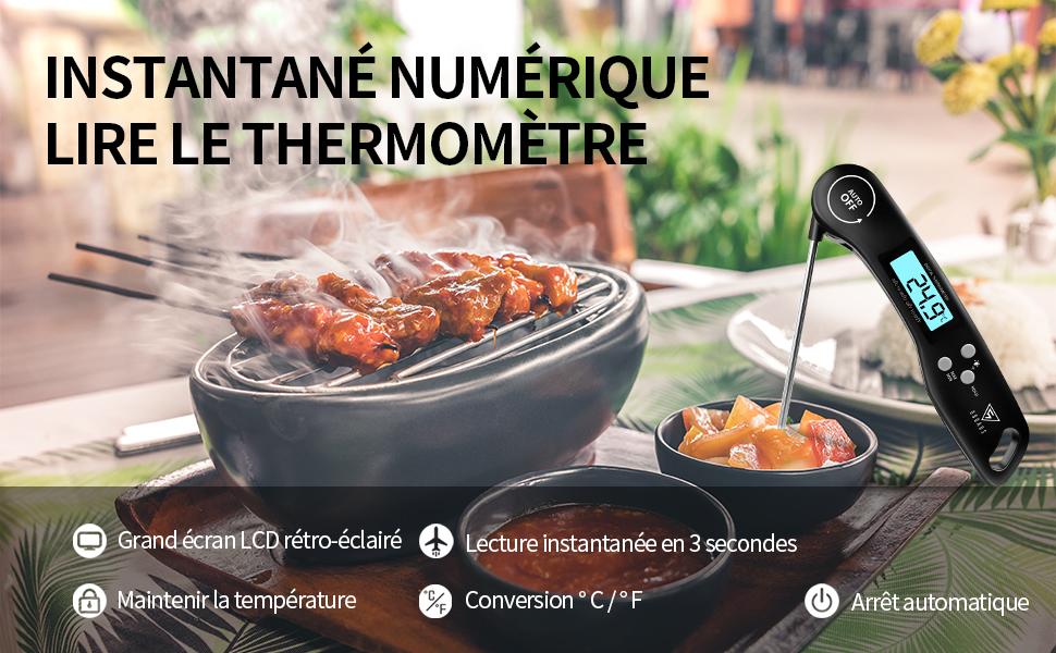 Thermomètre Viande