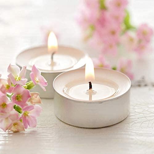 pajoma bougies à thé non parfumées 100 pièces, durée de combustion : 4 heures, bougies à thé Gastro