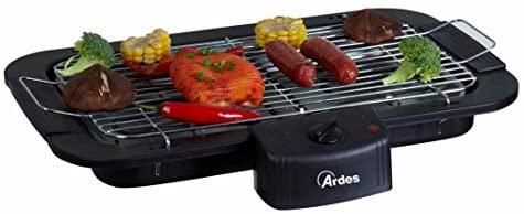 Ardes AR1B01 Barbecue Electrique Portable, 2200 W, Noir