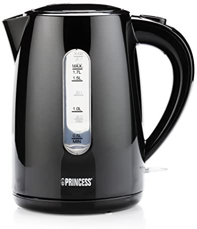 Princess 01.236017.01.001 236017 Bouilloire, 2200 W, Noir