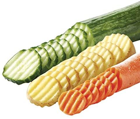 Tescoma Presto Coupe-légumes à lame ondulée
