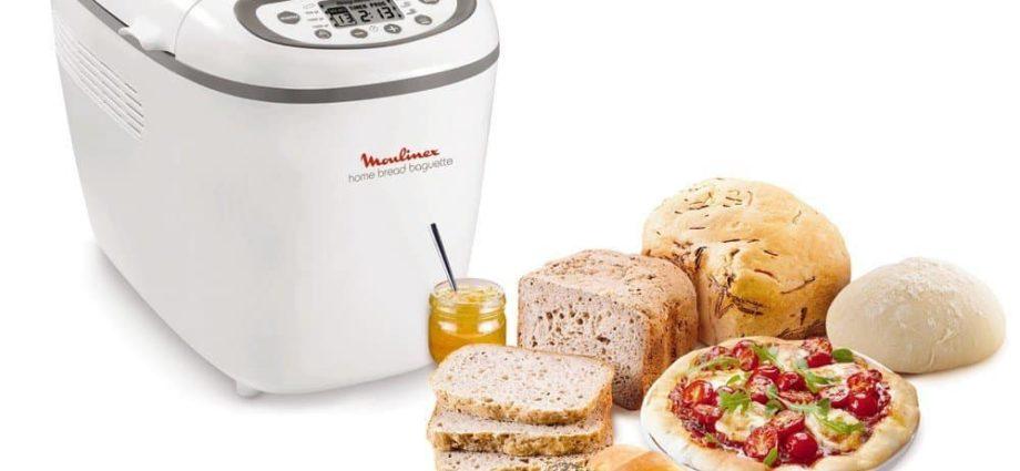 Faites votre pain facilement avec la machine à pain Moulinex Home Bread
