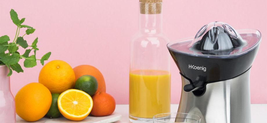 Envie d'un jus d'orange frais ? Optez pour le presse agrumes électrique