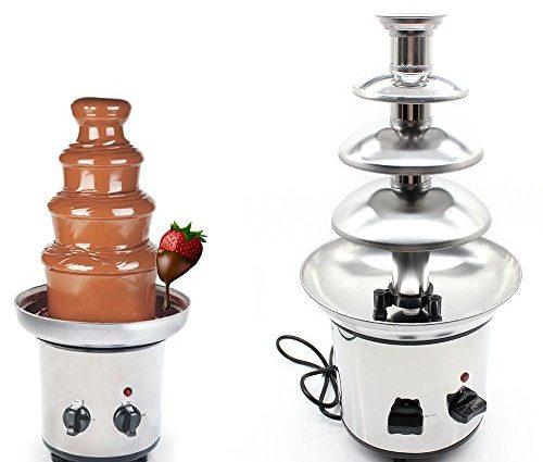 Notre sélection de fontaines à chocolat