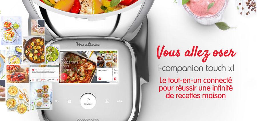 Nouveau Robot cuiseur i-Companion Touch XL