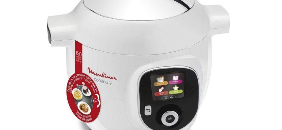 -35% sur le robot multicuiseur intelligent Cookeo+ Moulinex