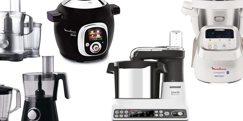 Meilleurs robots de cuisine multifonctions