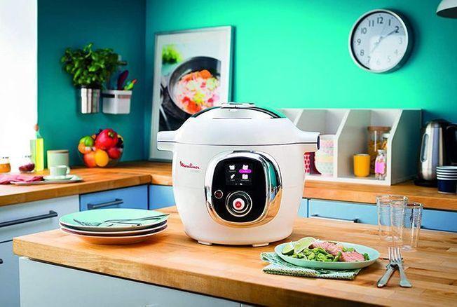 Le robot cuiseur Moulinex Cookeo vous aide à réaliser de bons petits plats