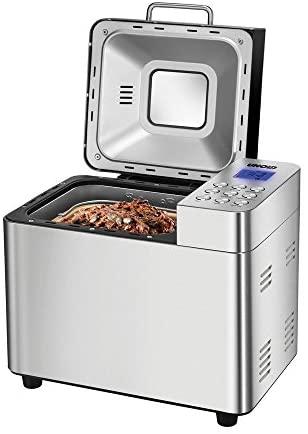 Unold Machine à Pain Back Meister acier, 550W, 750–1000g poids, revêtement céramique à pain 68456